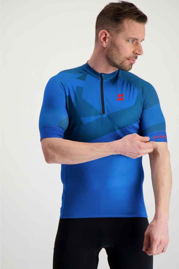 Stoke maillot de bike hommes Couleur Bleu 1