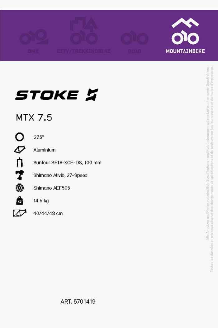 Stoke MTX 7.5 27.5 mountainbike filles 2021 2