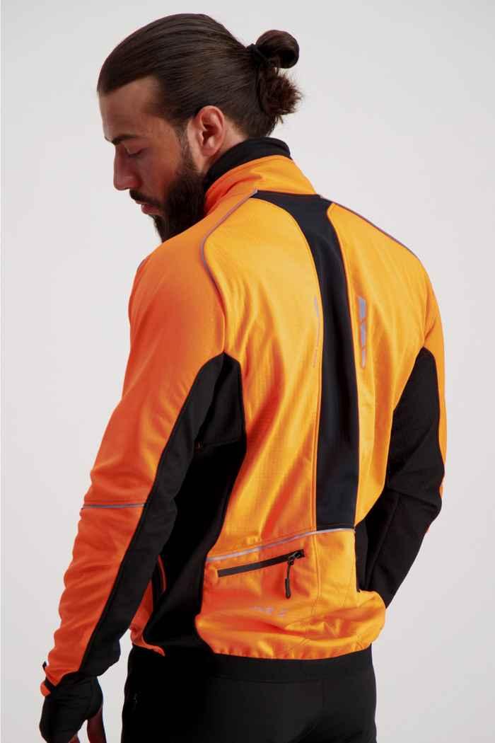 Stoke Performance Herren Bikejacke Farbe Orange 2