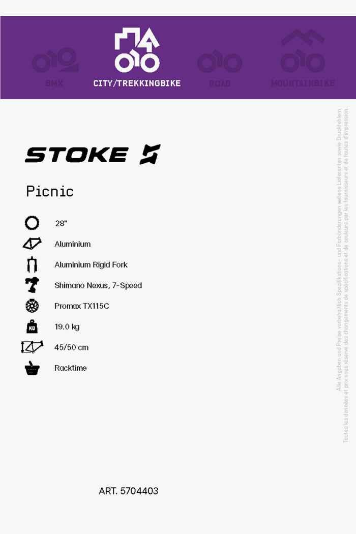 Stoke Picnic 28 citybike femmes 2021 2