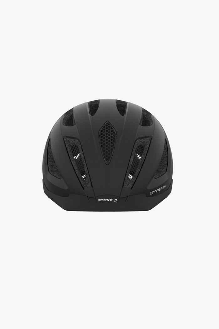 Stoke Stream+ casco per ciclista Colore Nero 2