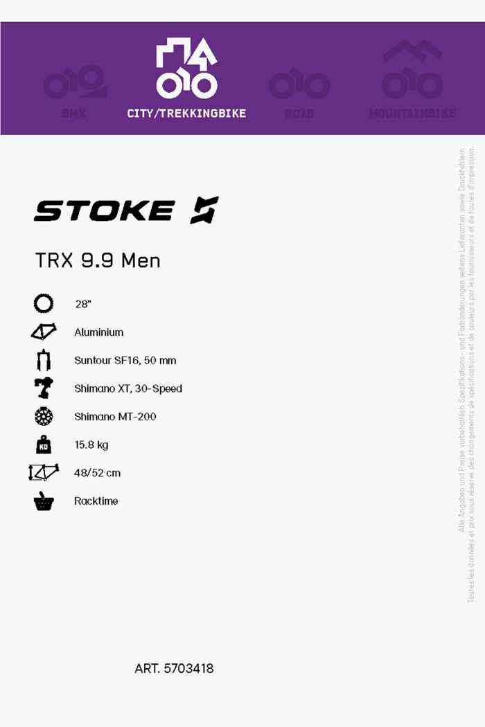 Stoke TRX 9.9 28 citybike hommes 2021 2
