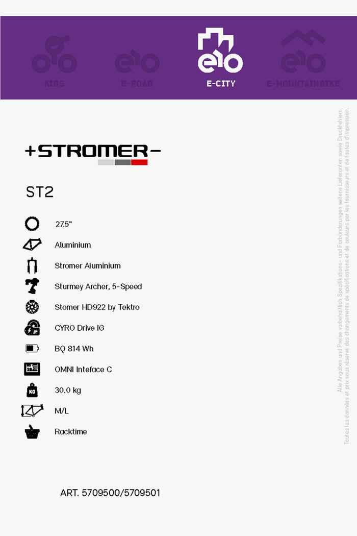 Stromer ST2 Comfort Beltdrive 27.5 e-Bike femmes 2021 2