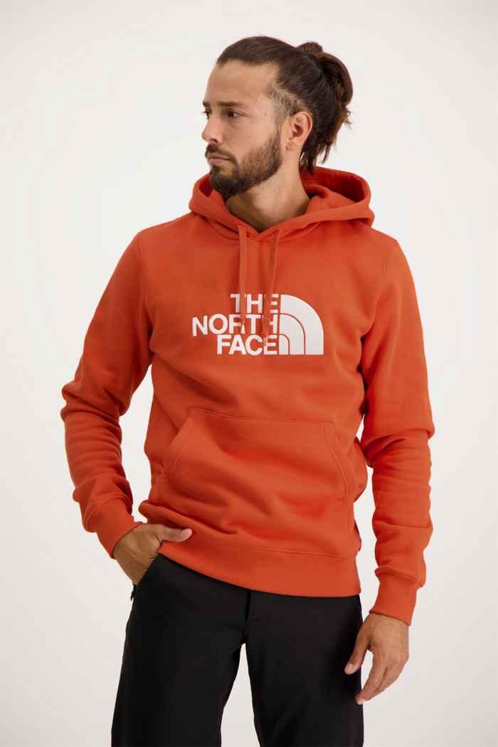 The North Face Drew Peak Herren Hoodie Farbe Orange 1