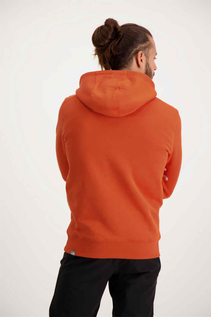 The North Face Drew Peak Herren Hoodie Farbe Orange 2