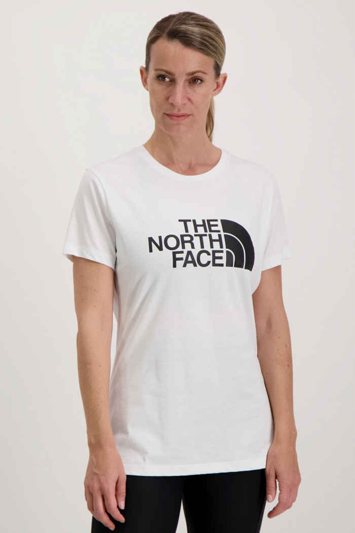 The North Face Easy Damen T-Shirt Farbe Weiß 1