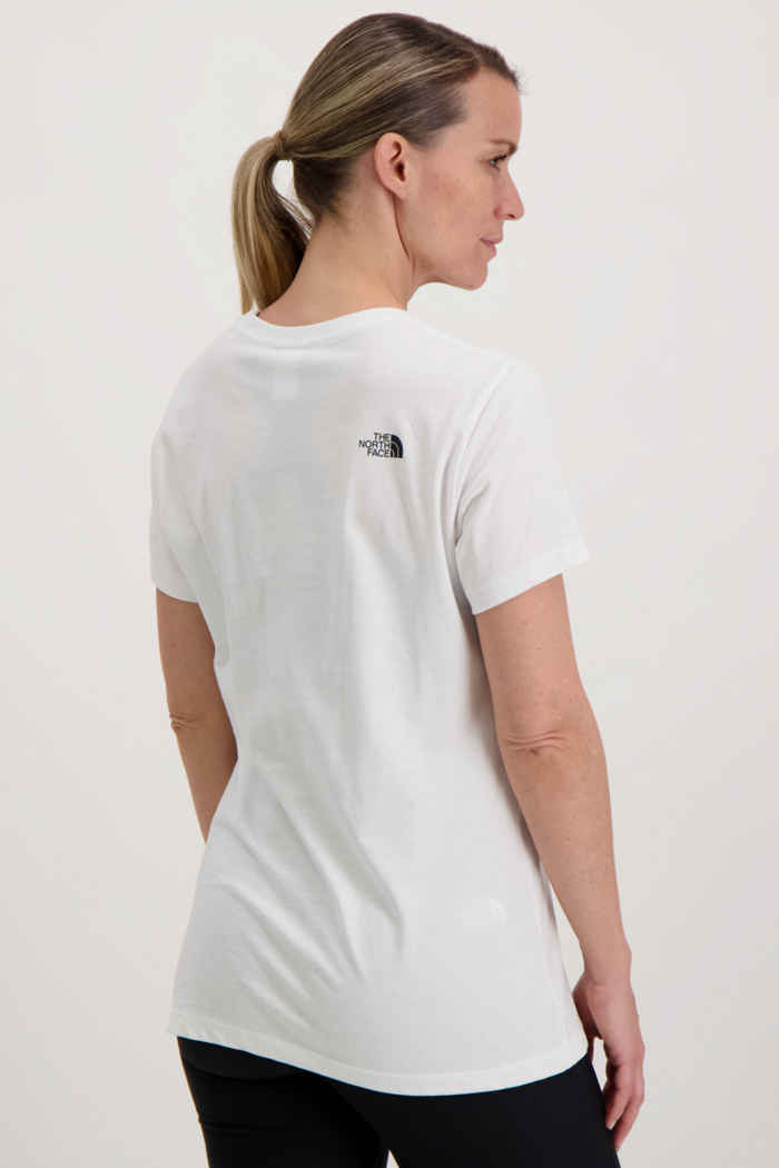 The North Face Easy Damen T-Shirt Farbe Weiß 2