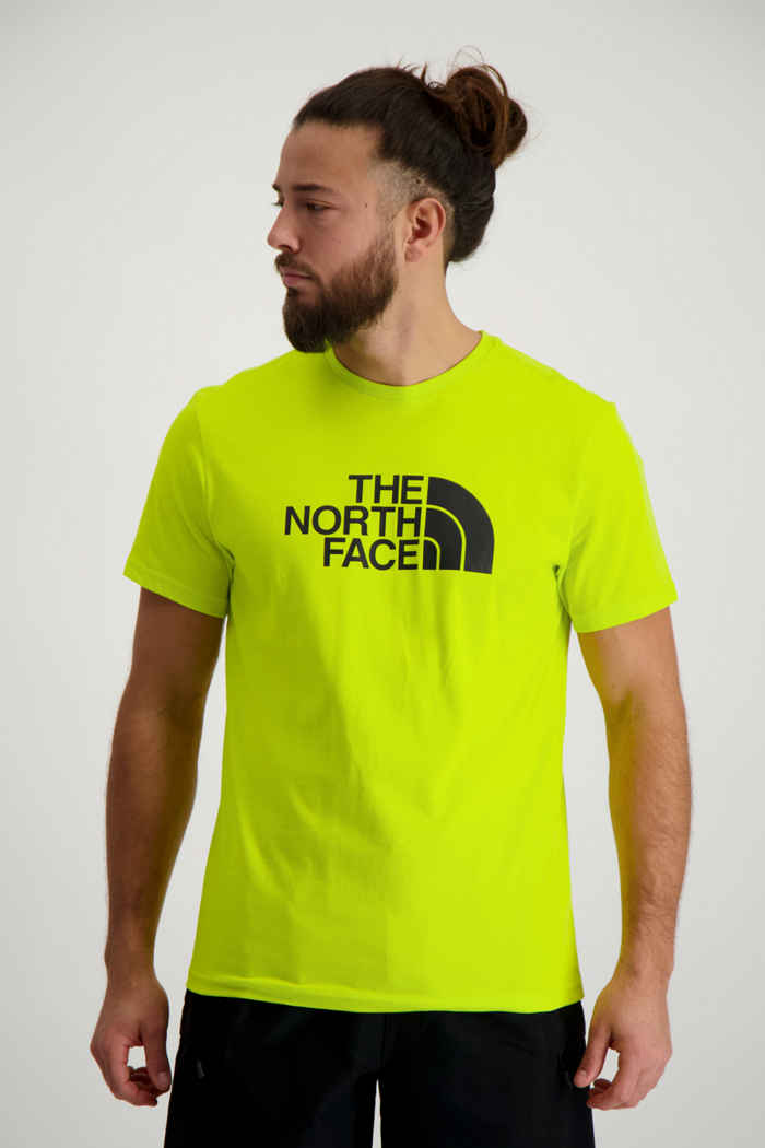 The North Face Easy Herren T-Shirt Farbe Gelb 1