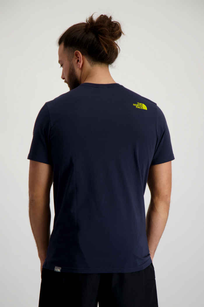 The North Face Easy Herren T-Shirt Farbe Navyblau 2