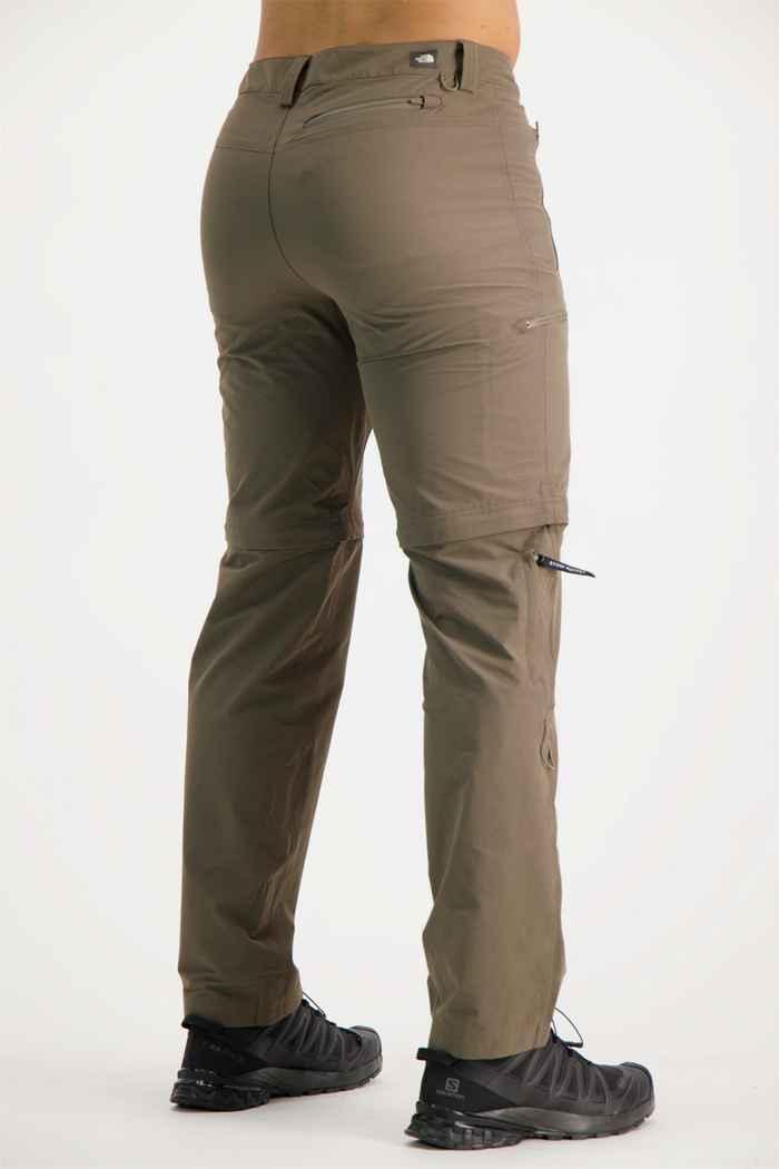 The North Face Exploration Zip-Off pantaloni da trekking uomo Colore Marrone 2