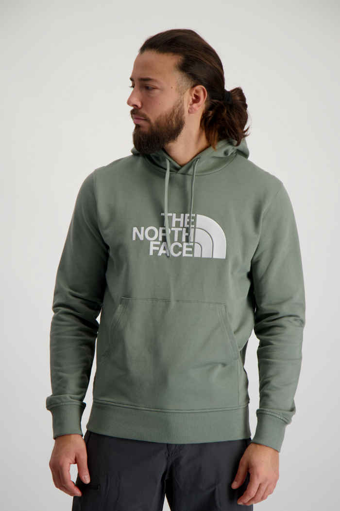 The North Face Light Drew Peak Herren Hoodie Farbe Grün 1