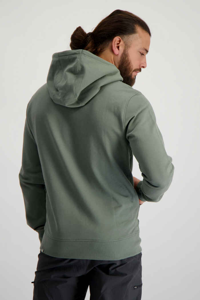 The North Face Light Drew Peak Herren Hoodie Farbe Grün 2