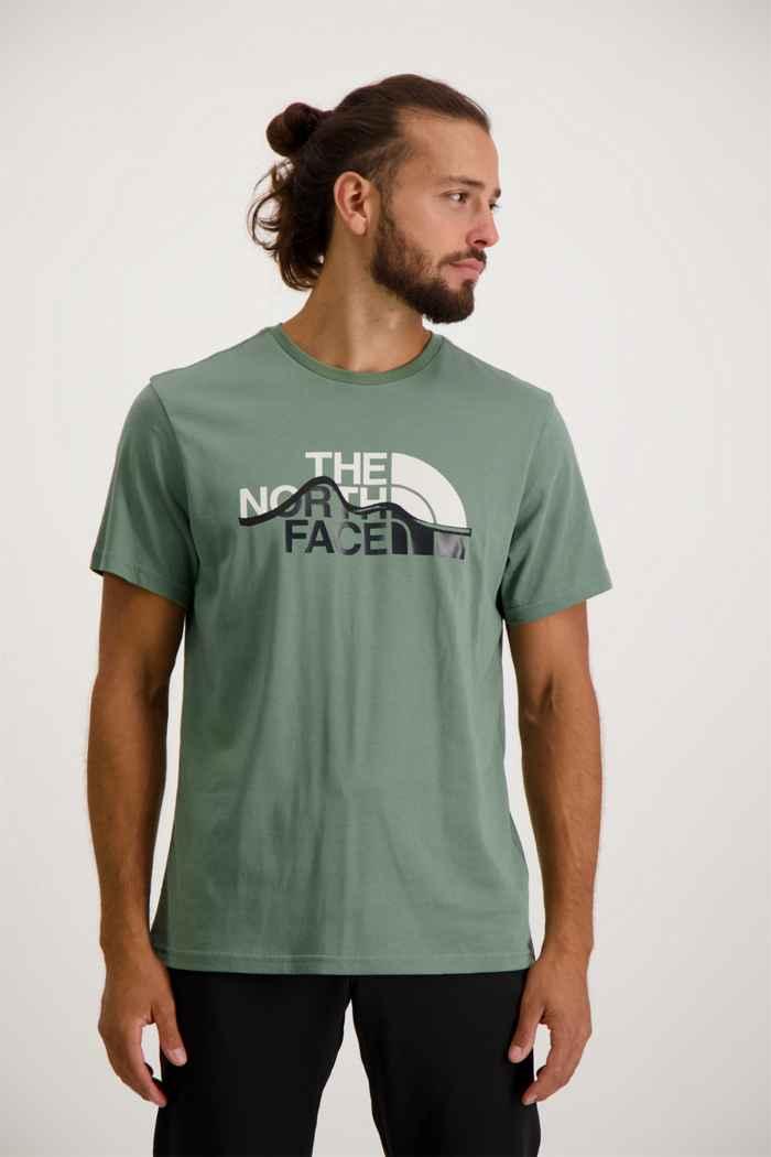 The North Face Mountain Line Herren T-Shirt 1