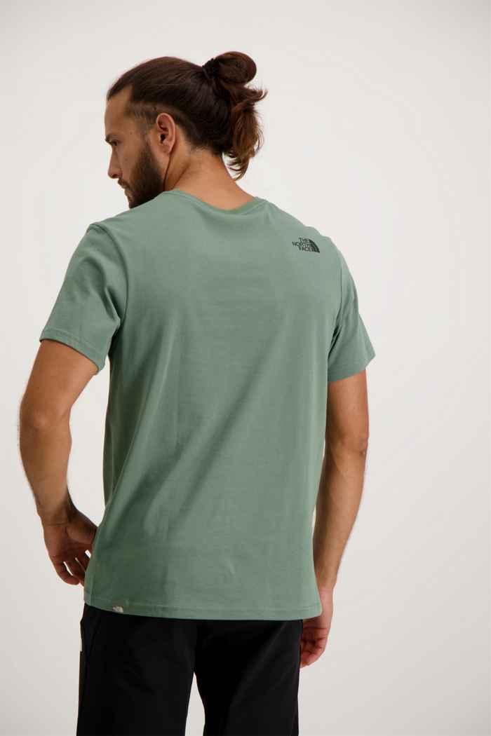 The North Face Mountain Line Herren T-Shirt 2
