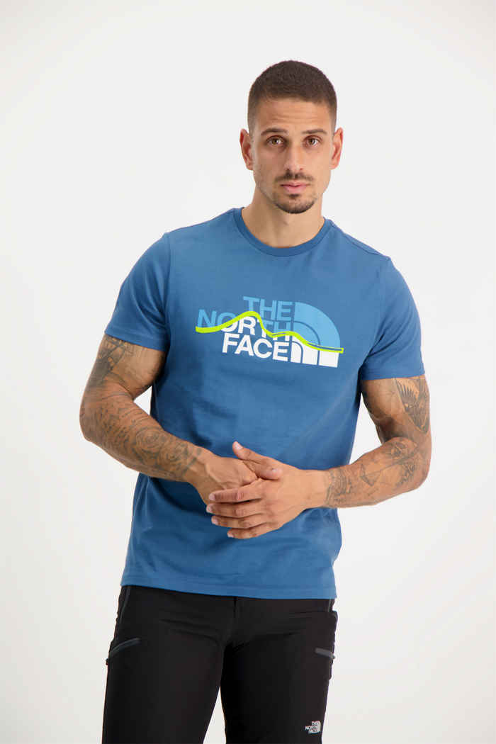 The North Face Mountain Line t-shirt hommes 1