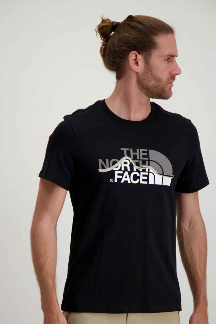 The North Face Mountain Line t-shirt uomo 1