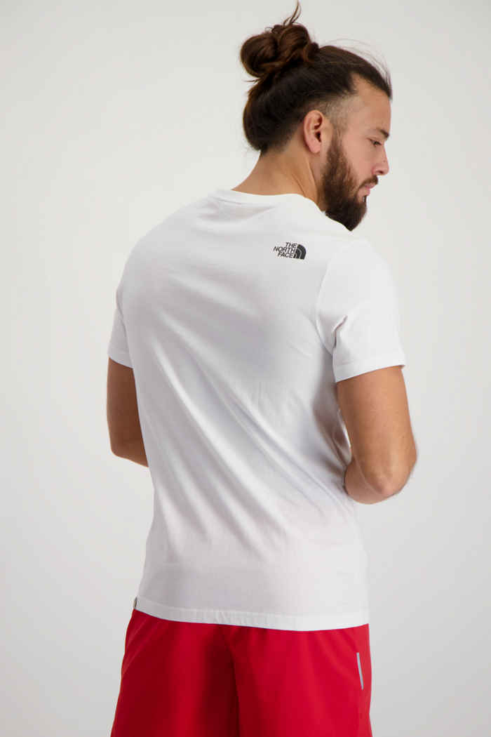 The North Face NSE t-shirt hommes Couleur Blanc 2