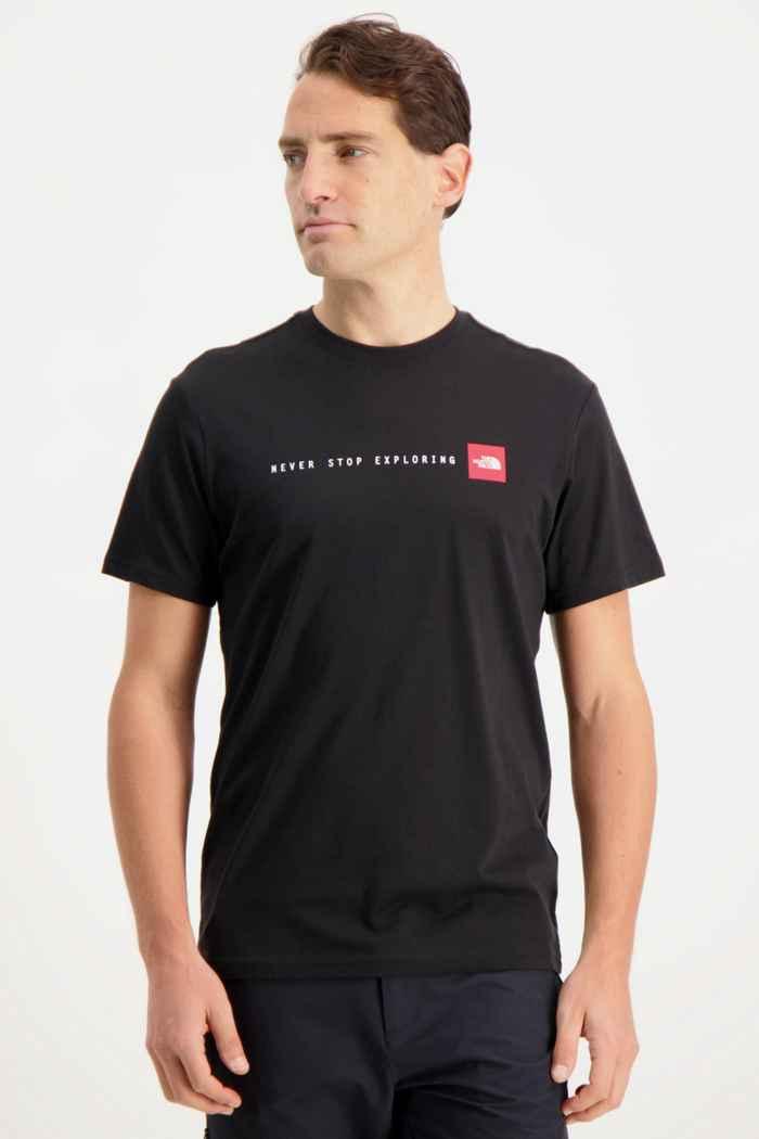 The North Face NSE t-shirt hommes Couleur Noir 1