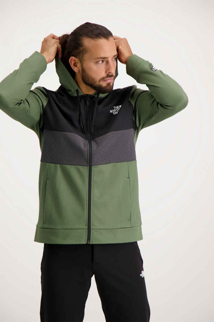The North Face Overlay midlayer hommes 1
