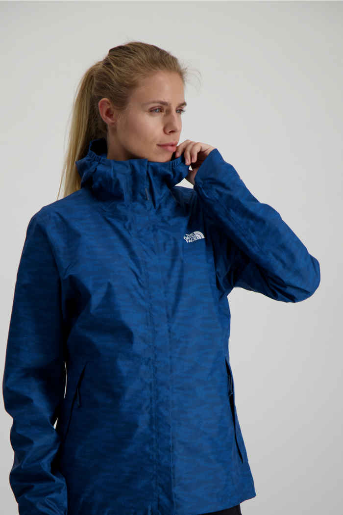 The North Face Quest Print giacca impermeabile donna 1