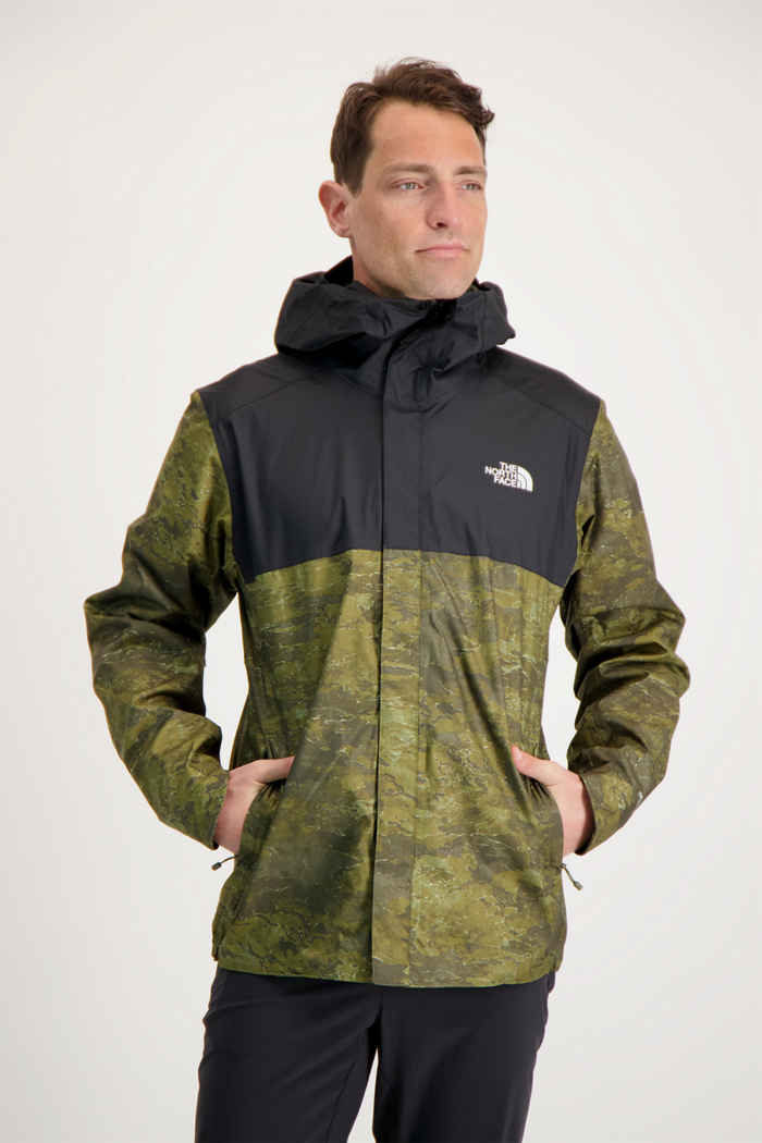 The North Face Quest Zip-In giacca outdoor uomo Colore Verde oliva 1