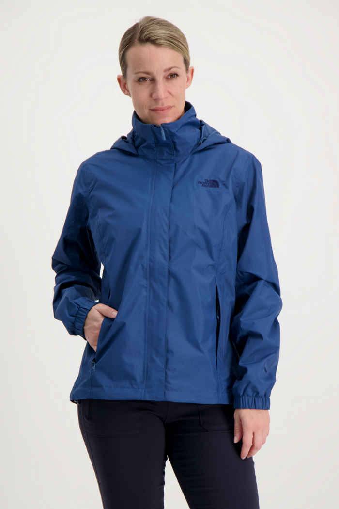 The North Face Resolve 2 Damen Regenjacke Farbe Blau 1