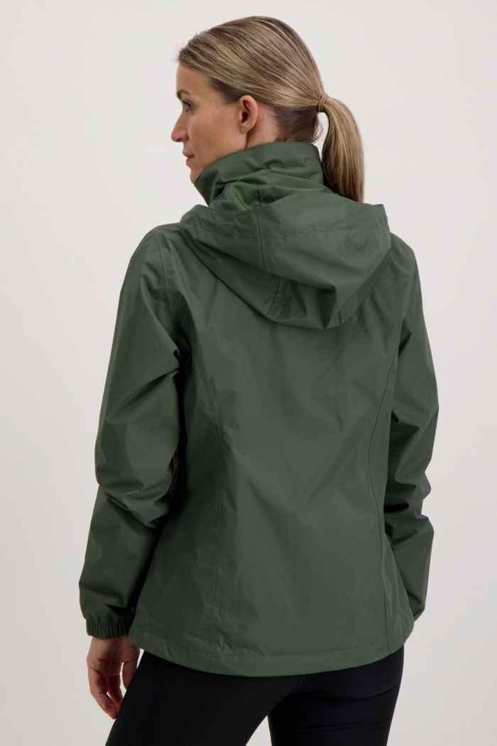 The North Face Resolve 2 Damen Regenjacke Farbe Olive 2
