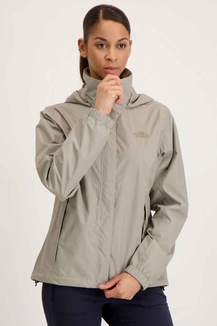 The North Face Resolve 2 giacca impermeabile donna Colore Taupe 1