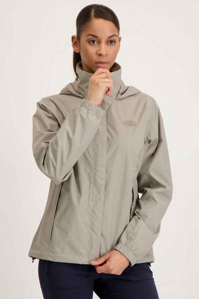 The North Face Resolve 2 veste imperméable femmes Couleur Taupe 1