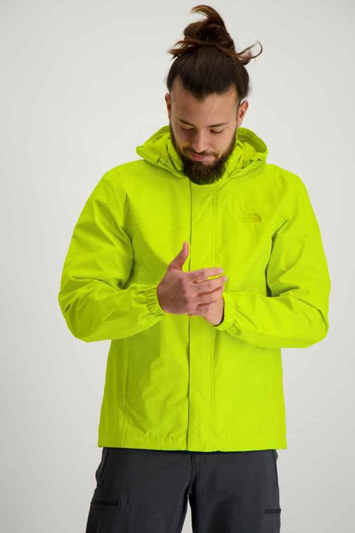 The North Face Resolve 2 veste imperméable hommes Couleur Jaune 1