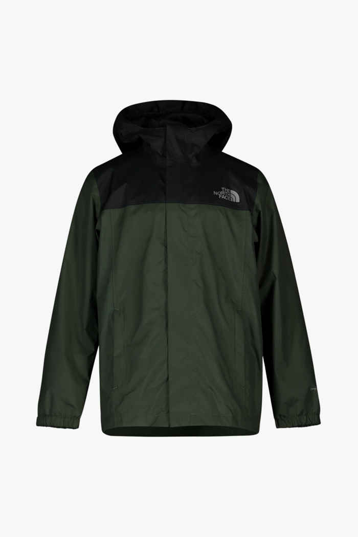 The North Face Resolve giacca impermeabile bambini Colore Verde oliva 1