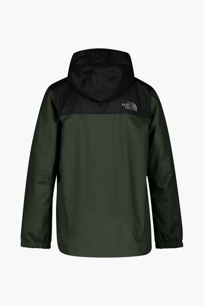 The North Face Resolve Kinder Regenjacke Farbe Olive 2