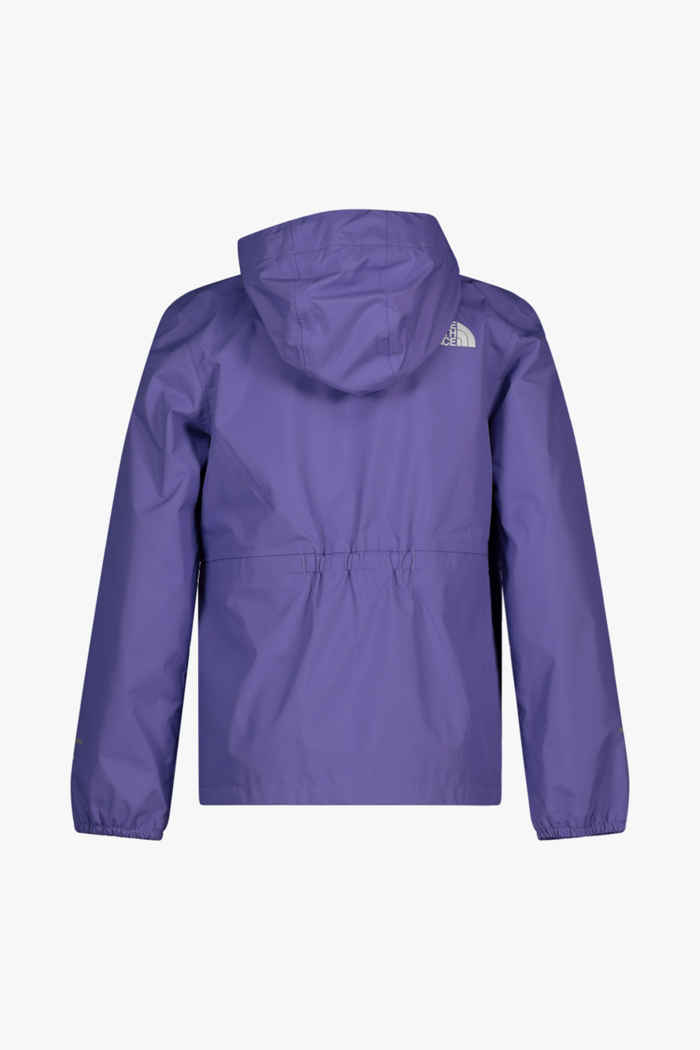 The North Face Resolve Reflective giacca impermeabile bambina Colore Viola 2