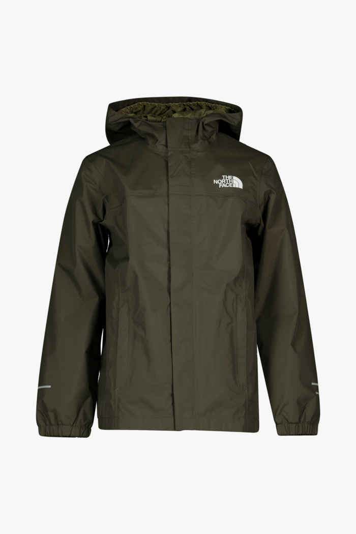 The North Face Resolve Reflective giacca impermeabile bambini Colore Cachi 1