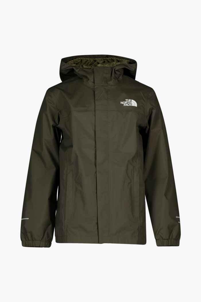 The North Face Resolve Reflective Kinder Regenjacke Farbe Khaki 1