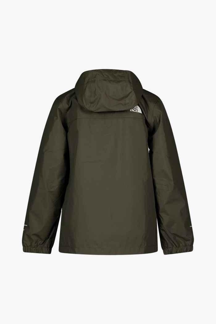 The North Face Resolve Reflective Kinder Regenjacke Farbe Khaki 2