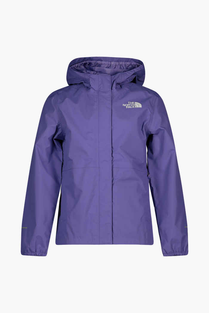 The North Face Resolve Reflective Mädchen Regenjacke Farbe Violett 1