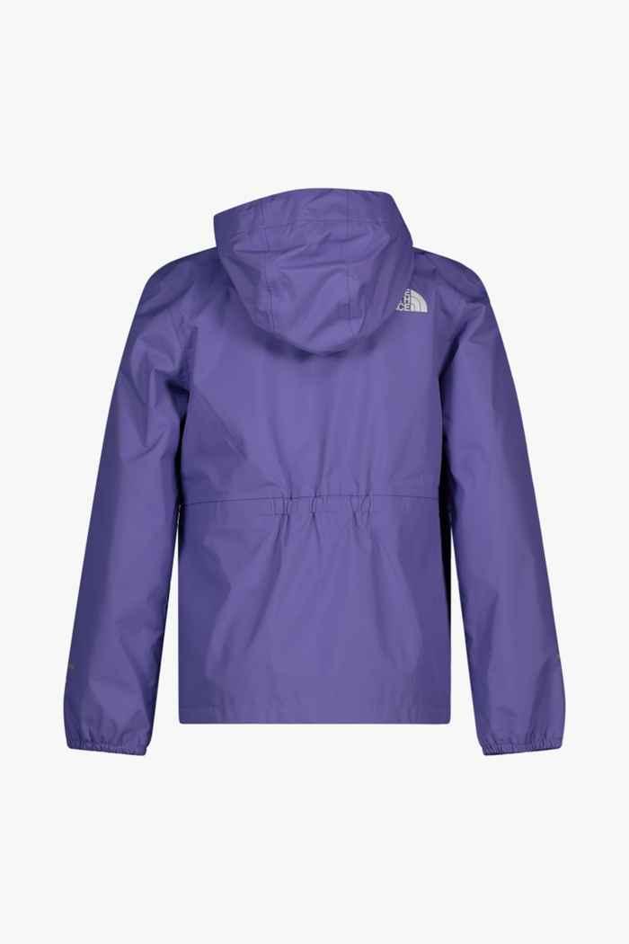 The North Face Resolve Reflective Mädchen Regenjacke Farbe Violett 2