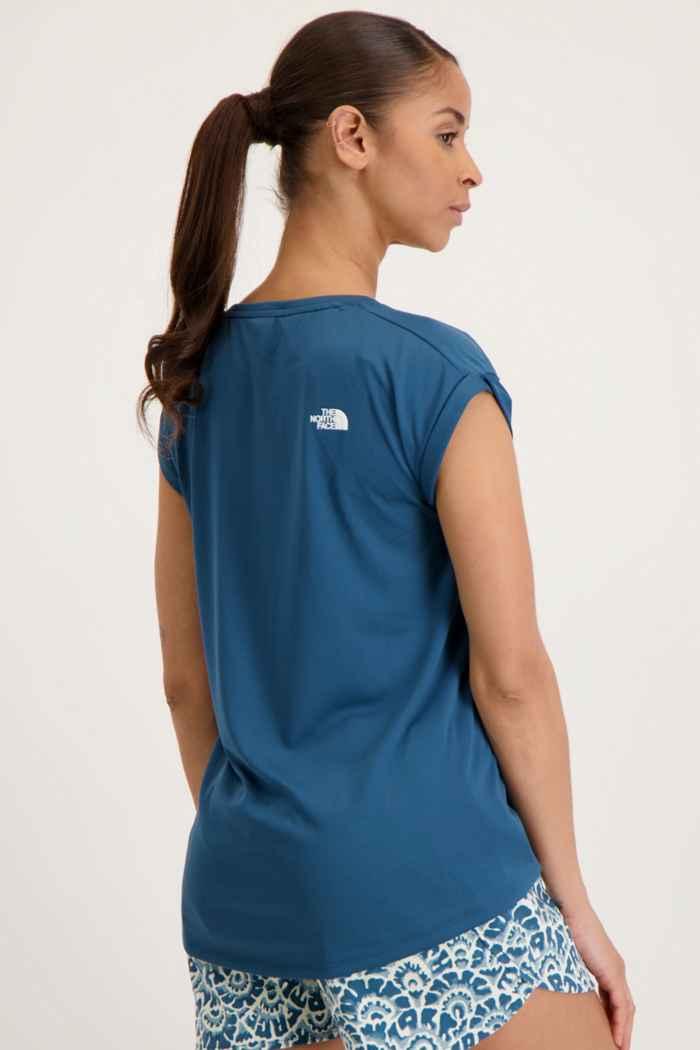 The North Face Tanken Damen T-Shirt Farbe Petrolblau 2