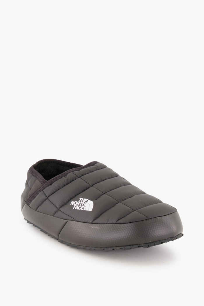 The North Face Thermoball Traction Mule V Damen Hüttenschuhe Farbe Schwarz-weiß 1