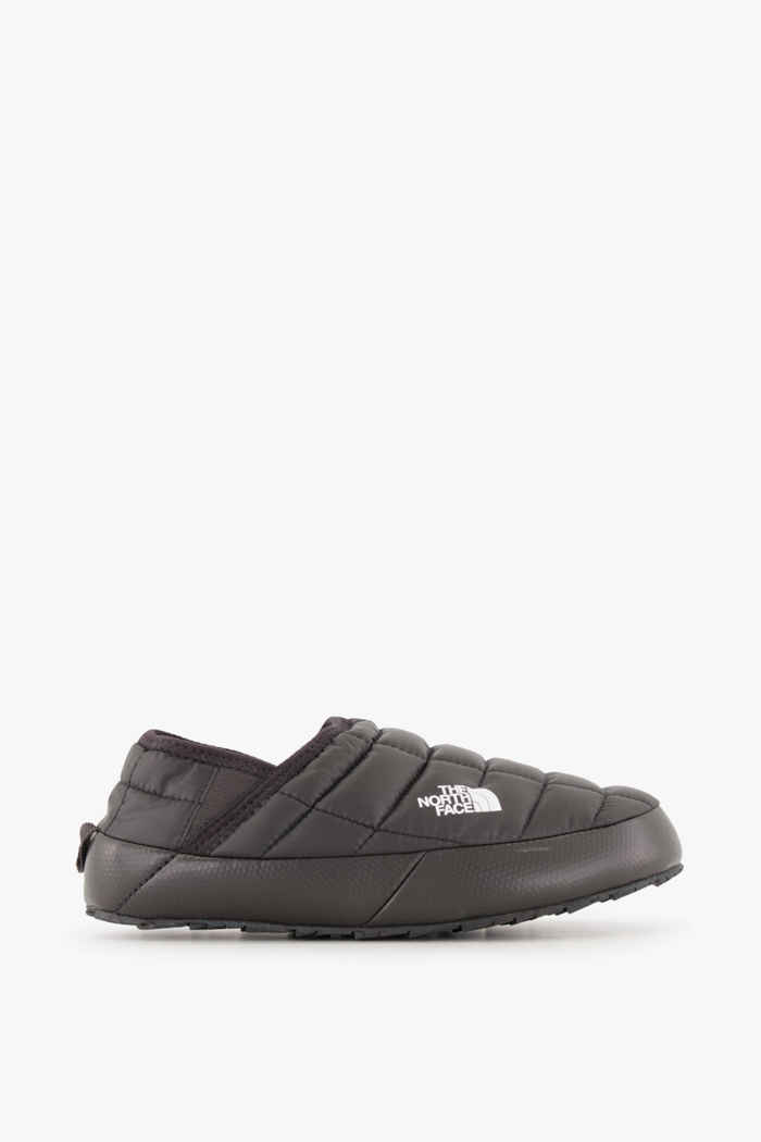The North Face Thermoball Traction Mule V Damen Hüttenschuhe Farbe Schwarz-weiß 2