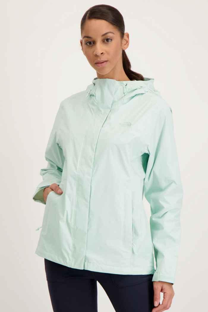 The North Face Venture 2 Damen Regenjacke Farbe Mint 1