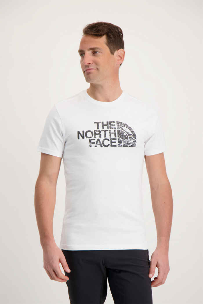 The North Face Woodcut Dome Herren T-Shirt 1