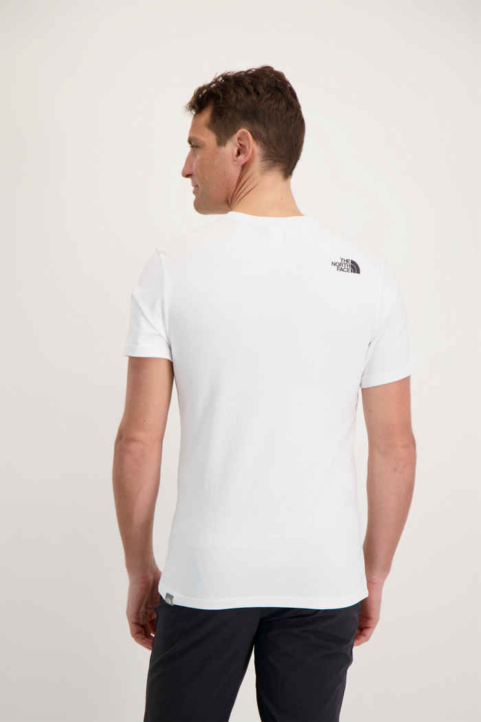 The North Face Woodcut Dome Herren T-Shirt 2