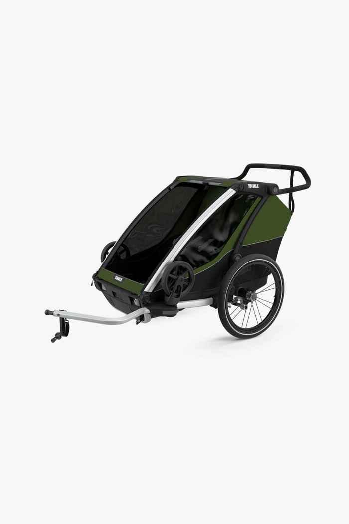 Thule Chariot Cab 2 rimorchio bicicletta 1