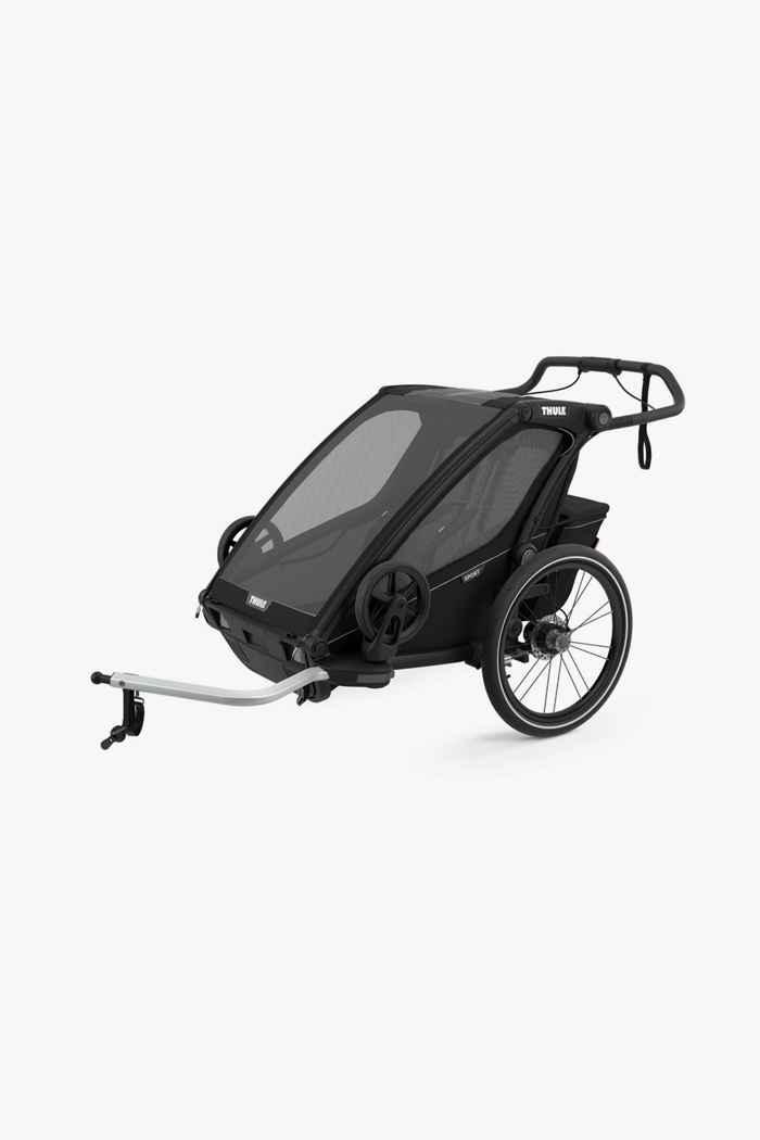 Thule Chariot Sport 2 rimorchio bicicletta Colore Nero 1