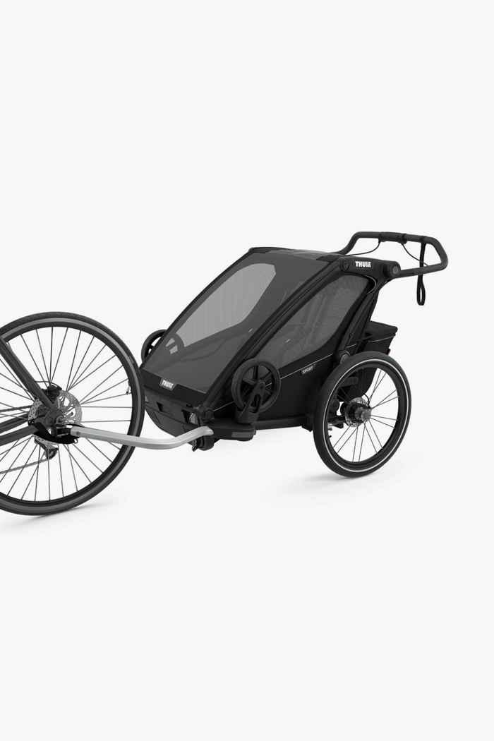 Thule Chariot Sport 2 rimorchio bicicletta Colore Nero 2