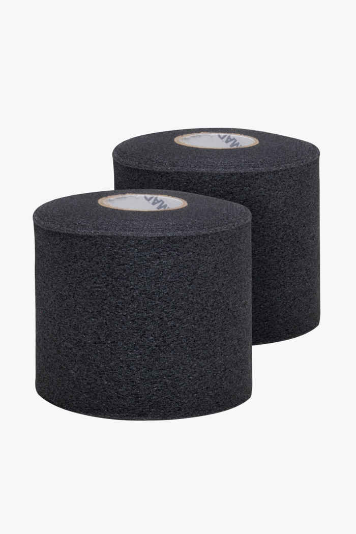 Top As 2-Pack 7 cm x 27.4 m tape Couleur Noir 1