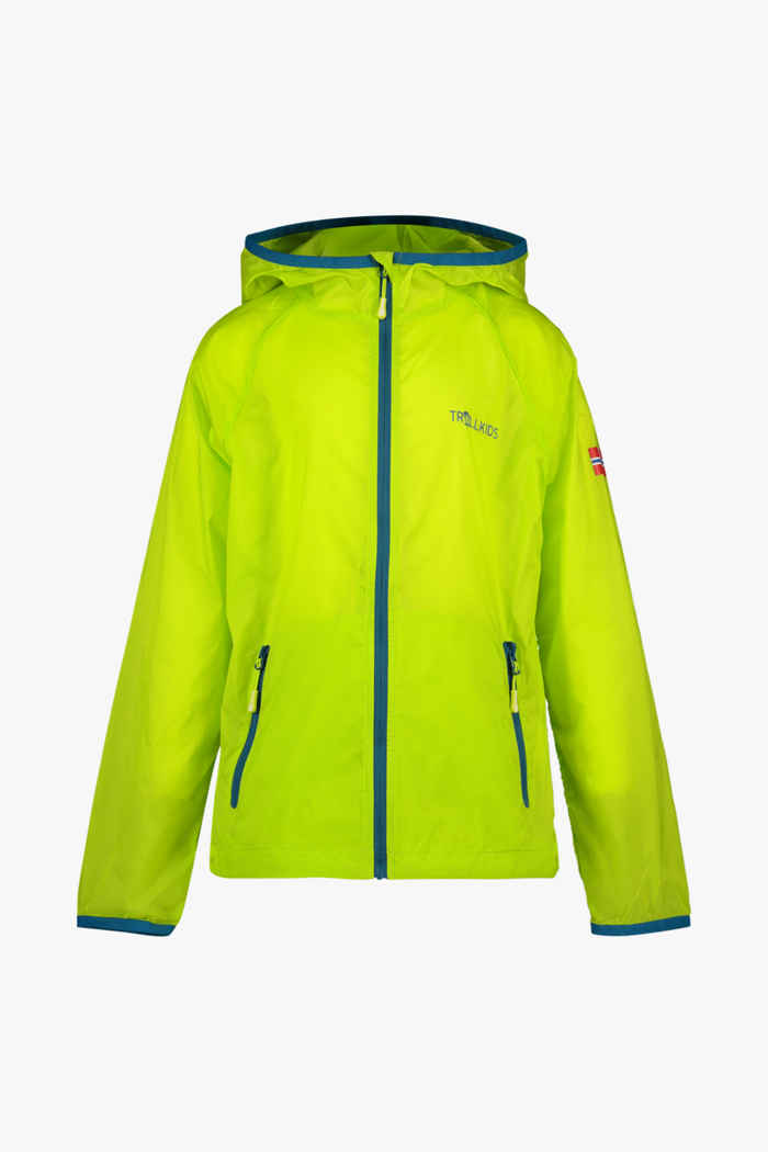 Trollkids Fjell Running Kinder Outdoorjacke Farbe Gelb 1