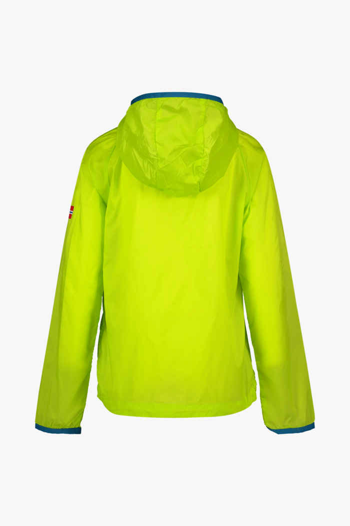 Trollkids Fjell Running Kinder Outdoorjacke Farbe Gelb 2